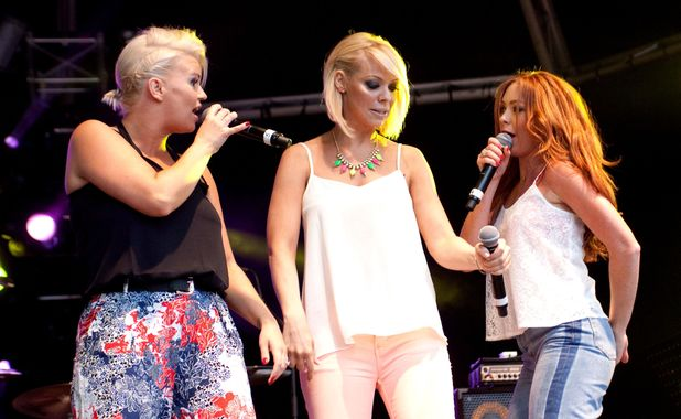 Atomic Kitten perform at Ascot Racecourse, Berkshire - 10 Aug 2013