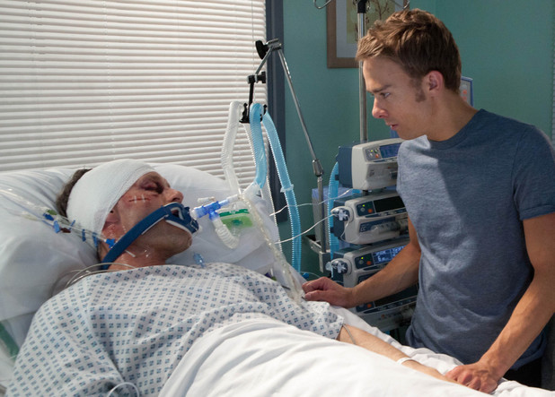 Corrie, Nick in a coma, Fri 9 Aug