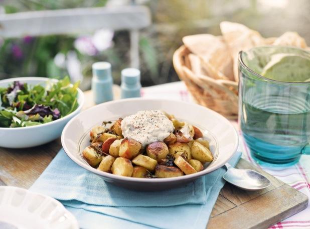 BBQ Roast Potatoes