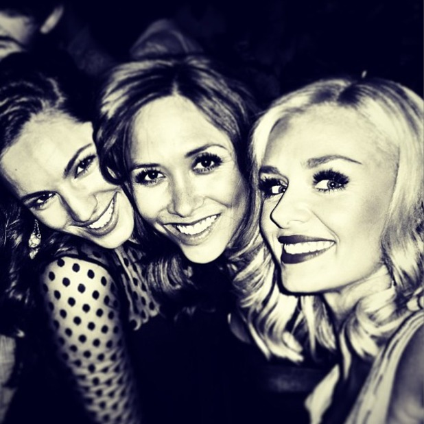 Kelly Brook puts her recent heartache behind her as she parties at Mayfair's Mahiki with friends Myleene Klass and Katherine Jenkins, Aug 9