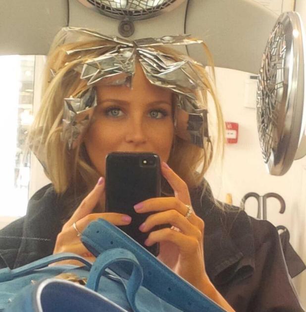 Stephanie Pratt gets her blonde hair highlighted - 9 August 2013
