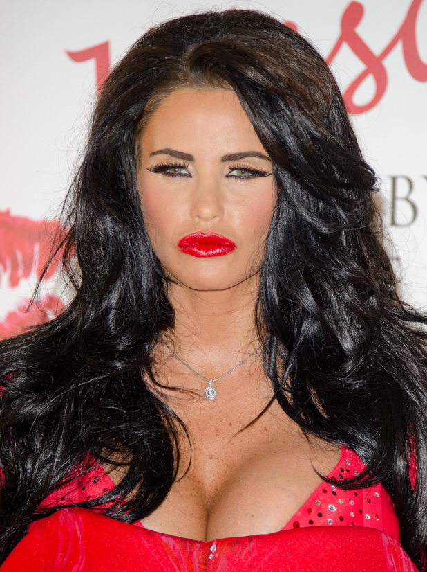Katie Price launches her new fragrance 'Kissable' at The Worx Studio - Photocall 07/04/2013