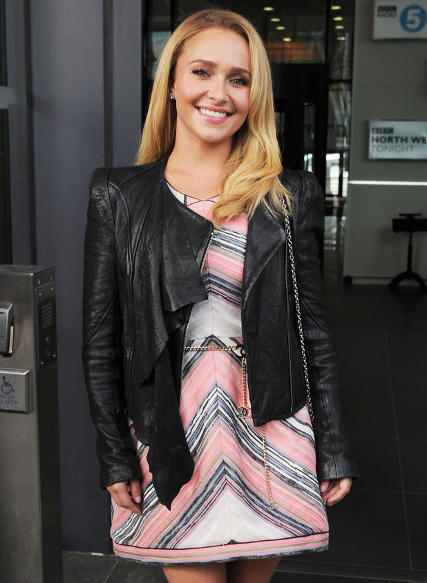 Hayden Panettiere at BBC Media City - 6.6.2013