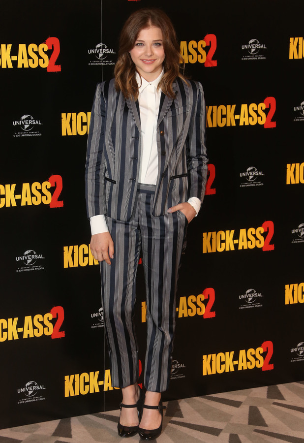 Chloe Moretz Kick-Ass 2 photocall held at Claridges - Arrivals