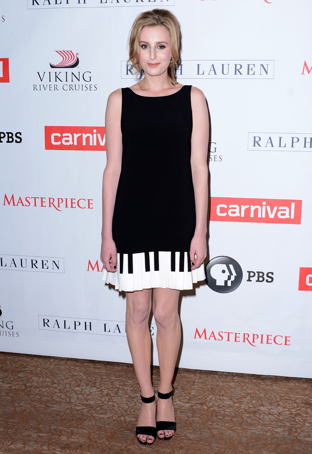 Laura Carmicheal 'Downton Abbey' photocall, Los Angeles, America - 06 Aug 2013