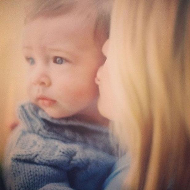 Kristin Cavallari celebrates son Camden's first birthday, 8 August 2013