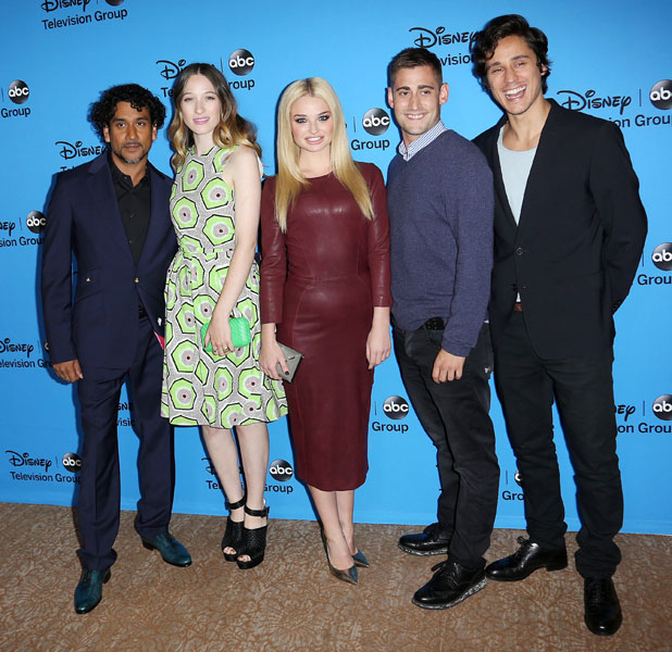 Naveen Andrews,Sophie Lowe,Emma Rigby,Michael Socha,Peter Gadiot, Disney & ABC TCA summer press tour held at Beverly Hilton Hotel - Arrivals, 4 August 2013