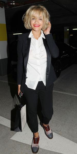 Rita Ora leaves London hairdresser, 08/08/13