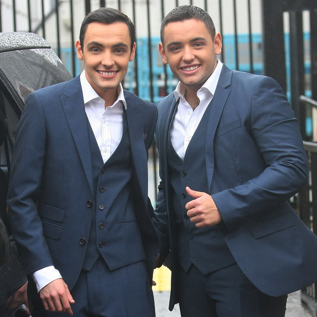 Richard and Adam Young from Britain's Got Talent, 2013