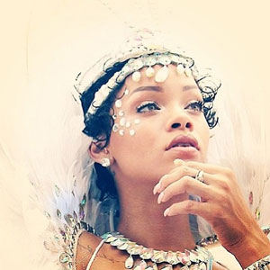 Rihanna at Barbados Crop Over Festival, 5 August 2013