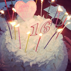Kylie Jenner's 16th birthday party - 10 August 2013