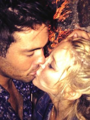Made In Chelsea's Spencer Matthews visits Mykonos with girlfriend Stephanie Pratt - 14 August 2013