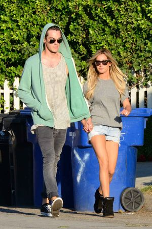 Ashley Tisdale and Christopher French out and about, Los Angeles, America - 13 Aug 2013