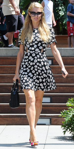 Paris Hilton out and about, Los Angeles, America - 06 Jul 2013