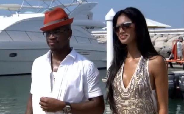 Nicole Scherzinger and Ne-Yo in Dubai for X Factor Judges' Houses in 2012