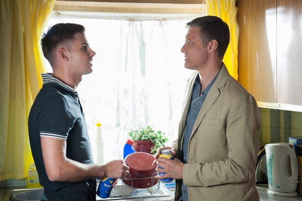 Hollyoaks, Ste and Danny, Mon 19 Aug