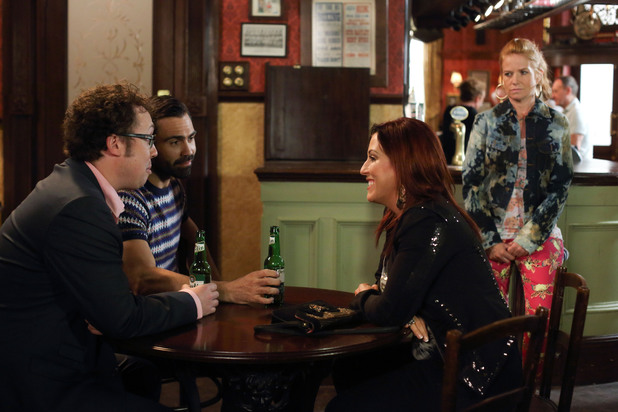 EastEnders, Kat and Bianca go on a blind date, Mon 19 Aug