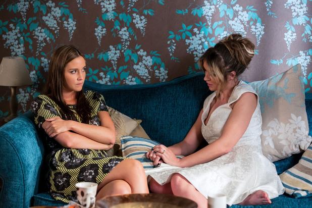 EastEnders, Kirsty gives Lauren advice, Fri 23 Aug