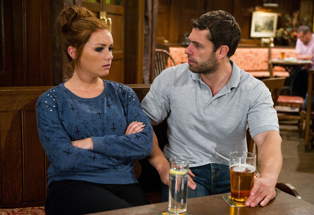 Emmerdale, Amy confides in Andy, Wed 21 Aug