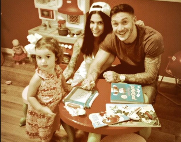 Kirk Norcross reunites with Cami Li in Miami and meets her little niece - 16 August 2013