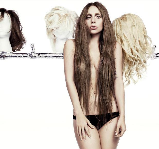 Lady Gaga poses for ARTPOP album artwork - releases image with new 'Applause' single - 12 August 2013