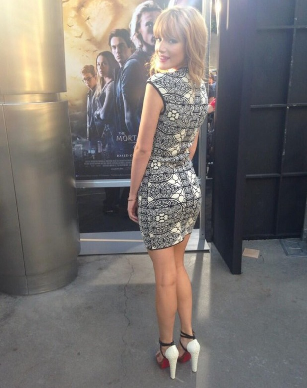 Bella Thorne at The Mortal Instruments film premiere in Hollywood, 13 August