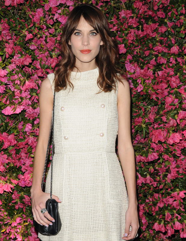 Alexa Chung at The 8th annual Chanel Artists Dinner during the 2013 Tribeca Film Festival at The Odeon