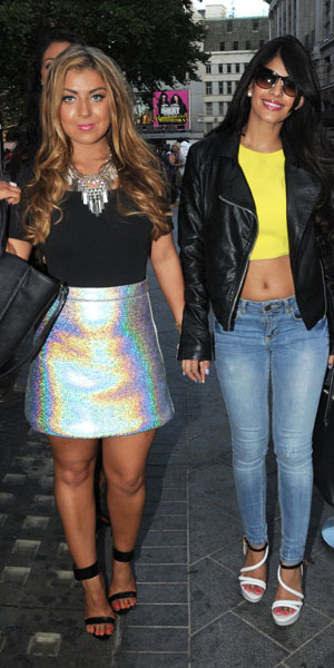 Jasmin Walia and Abi Clarke at 'Bloggers Love So...?' Party, London, Britain - 15 Aug 2013
