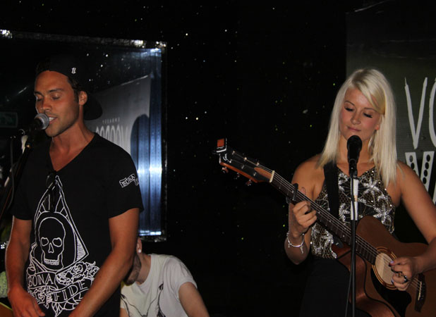 Made In Chelsea's Andy Jordan makes music debut in London with country singer Fiona Culley