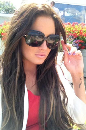 Made In Chelsea's Binky Felstead at the polo