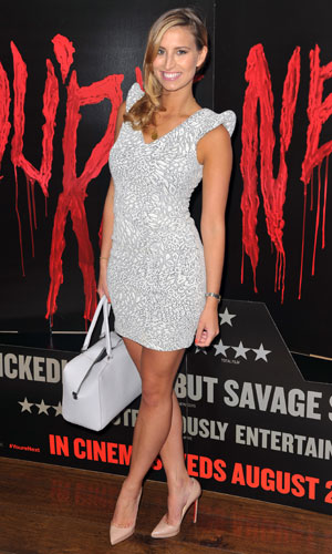 Ferne McCann at the You're Next screening in London, 13 August 2013