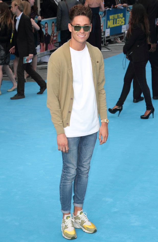 We're The Millers' - UK film premiere held at the Odeon West End - Red Carpet PersonInImage:Joey Essex Credit :WENN.com Special Instructions : Date Created :08/14/2013