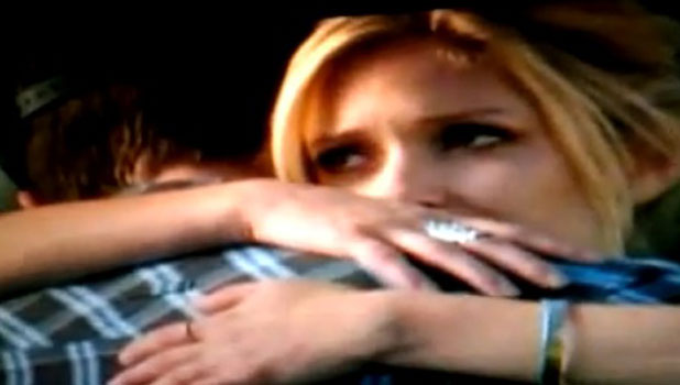 Kristin Cavallari and Brody Jenner in The Hills ending, 2010