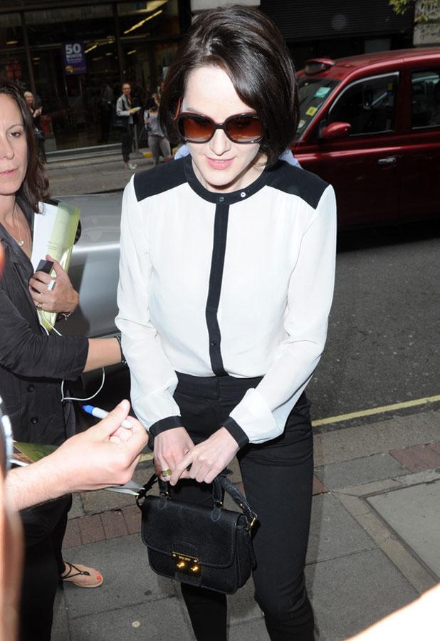 Michelle Dockery 'Downton Abbey' TV series 4 press launch, London, Britain - 13 Aug 2013
