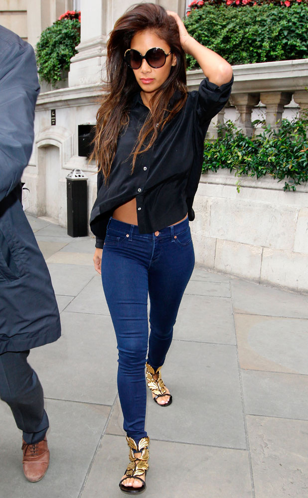 Nicole Scherzinger out and about, London, Britain - 13 Aug 2013