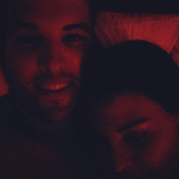 Jessica Wright and Ricky Rayment in bed after Natalya Wright's 13th birthday, 11 August 2013