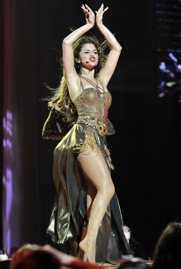 Opening Night of Selena Gomez Stars Dance World Tour, Vancouver, 14 August 2013