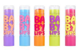 Maybelline Baby Lips Lip Balm, £2.99 each