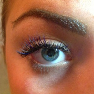 Abigail Clarke TOWIE false lashes, 20 August, London