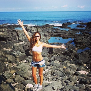 Nicole Scherzinger on family holiday with cousins in Hawaii - August 19 2013
