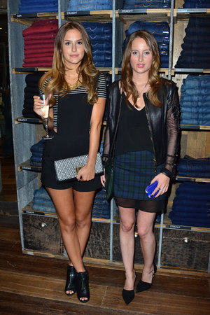 Oliver Proudlock X Oliver Sweeney Launch held at Harvey Nichols - Lucy Watson and Rosie Fortescue - 20.8.2013
