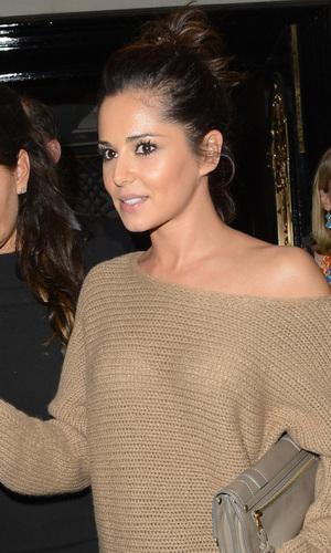 Cheryl Cole leaves Scott's restaurant in Mayfair - London, England - 11.08.12