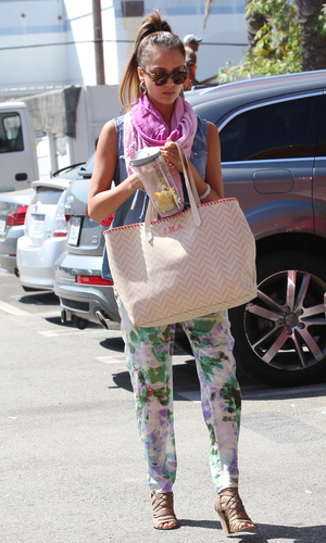 Jessica Alba in Los Angeles, 21 August
