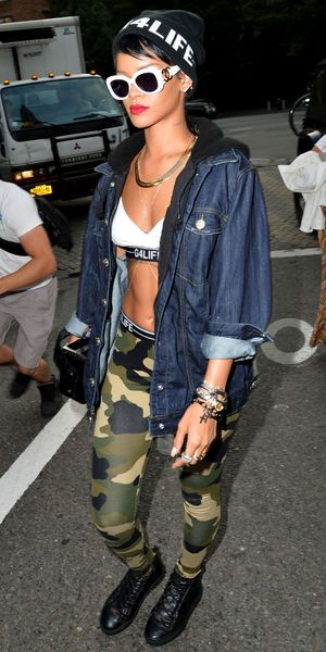 Rihanna out and about, New York, America - 19 Aug 2013