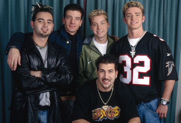 'N Sync at the Conran Hotel, Chelsea Harbour, London, Britain - 1997