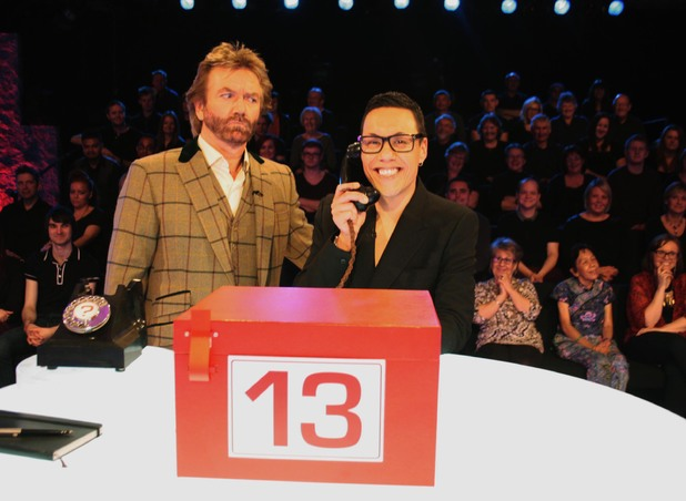 Celebrity Deal Or No Deal, Gok Wan, Sun 25 Aug