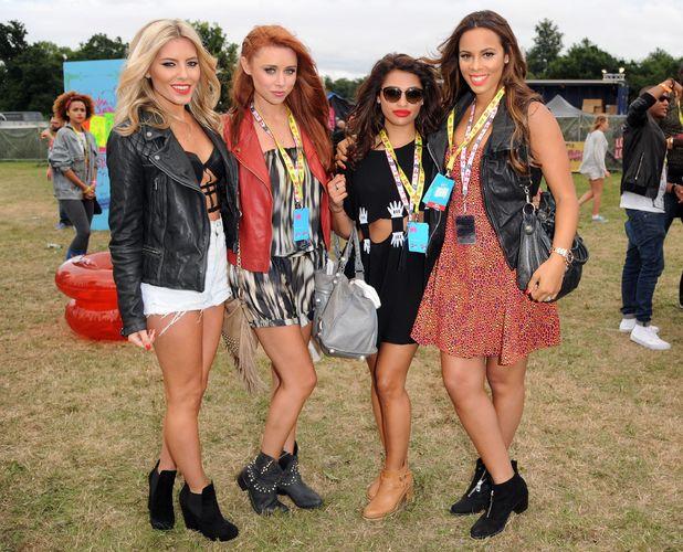 The Saturdays, Una Healy, Vanessa White, Rochelle Humes, Mollie King - V Festival, Chelmsford, Essex, Britain - 17 Aug 2013