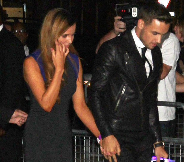 Liam Payne takes new girlfriend Sophia Smith to One Direction movie after-party, 20 August 2013