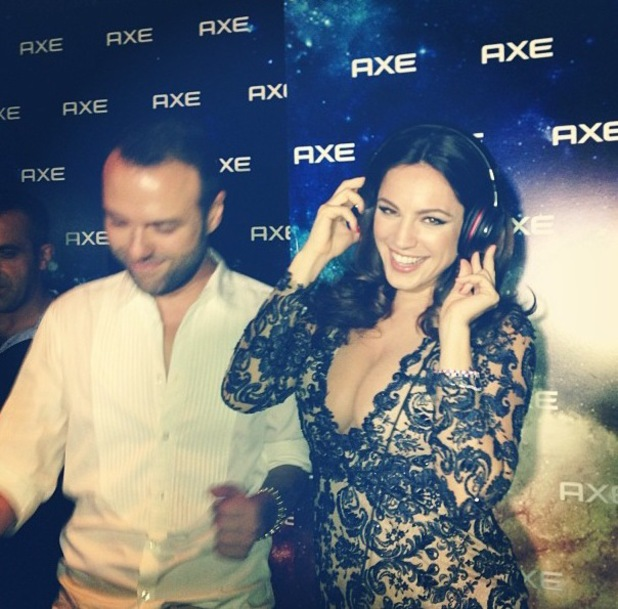 Kelly Brook takes trip to Istanbul to promote AXE Apollo deodorant and posts pictures - 18 August 2013
