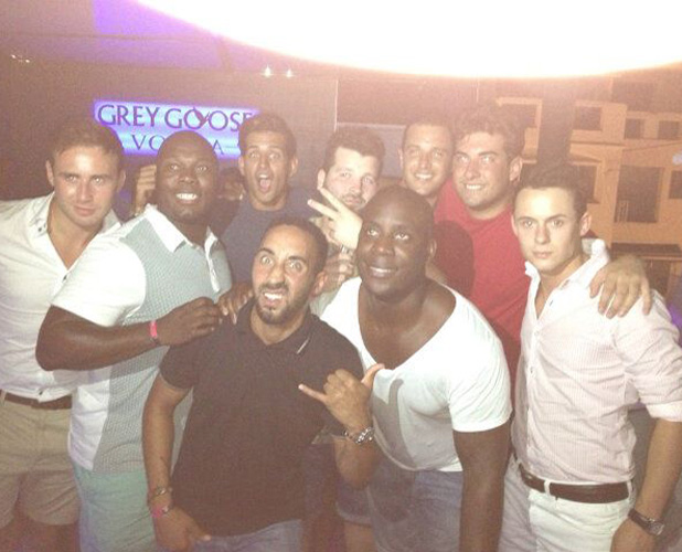 TOWIE's James 'Arg' Argent and Made In Chelsea's Ollie Locke partying in Marbella